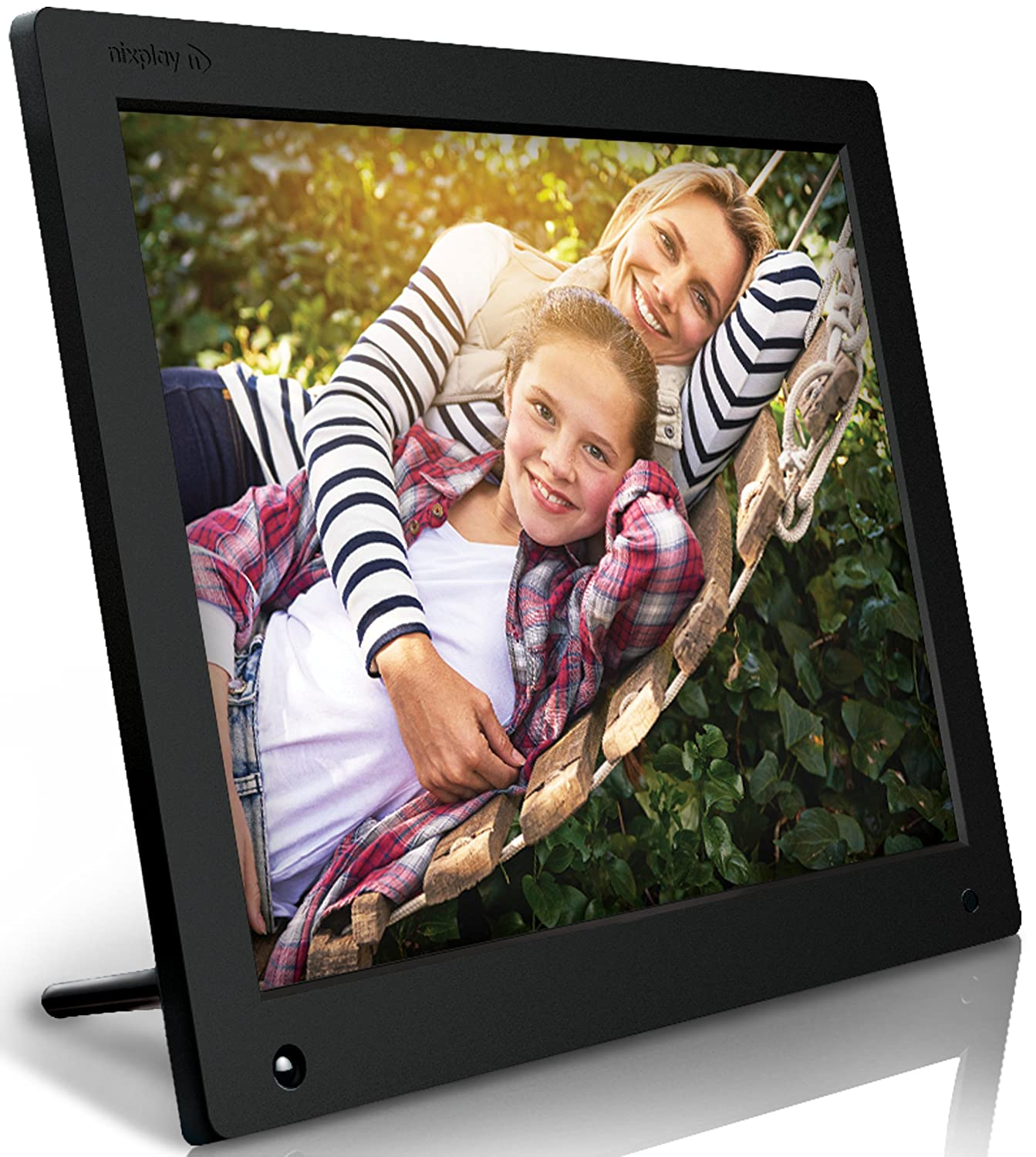 Amazon nixplay original 15 inch wifi cloud digital photo amazon nixplay original 15 inch wifi cloud digital photo frame iphone android app email facebook dropbox instagram picasa w15a camera jeuxipadfo Gallery