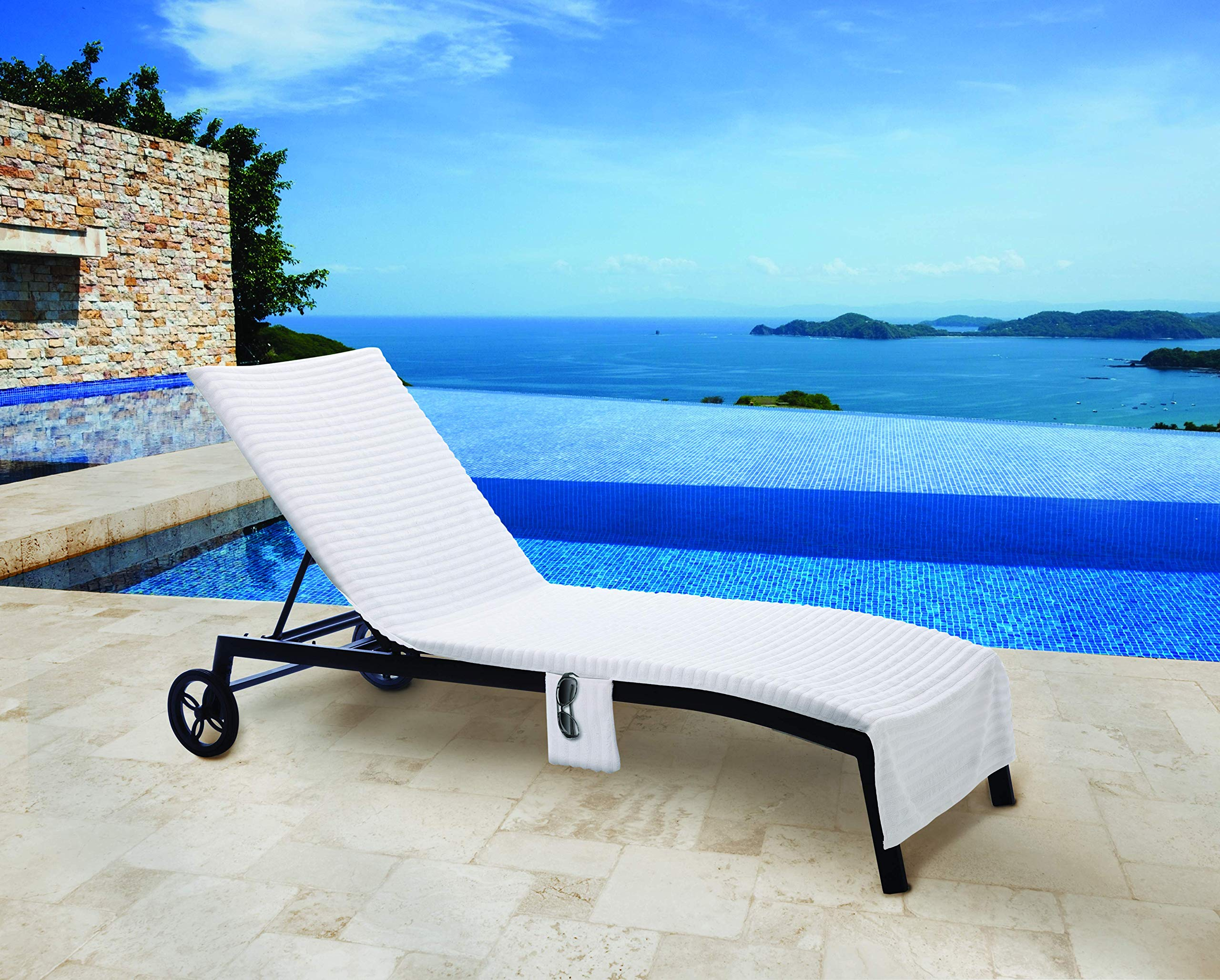 Haven Tencel Chaise Lounge Cover by Haven Spa Collection