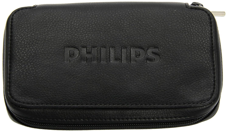 Philips LFH 91701 Tasche für Diktiergeräte Schwarz Schutzhülle Leder