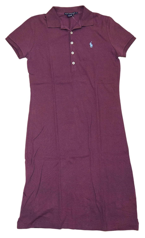 Ralph Lauren Polo Sport Womens Mesh Pullover Tennis Dress Cotton Shirt  Purple XS at Amazon Women s Clothing store  ec3bd05eb