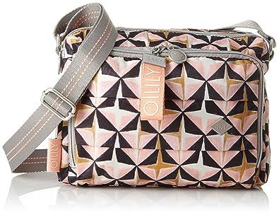 Oilily Charm Geometrical Shoulderbag Shz, Sacs portés épaule femme, , 12x18x24 cm (B x H T)