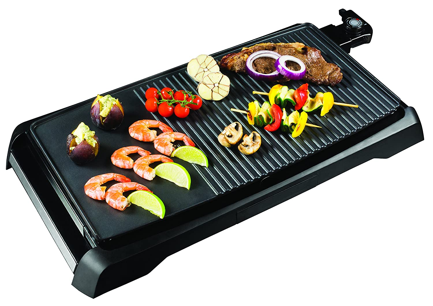 Health and Home 21Inch Nonstick Electric Griddle