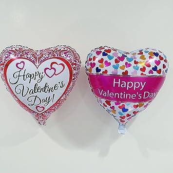 Amazon Com Happy Valentines Day Balloons 18 Set Of 2 Health