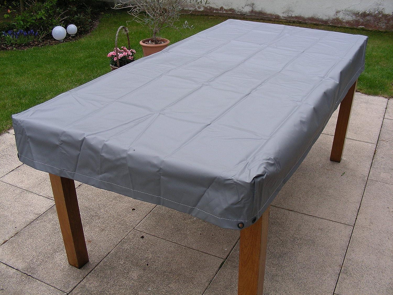 Kley&Partner Gartentisch Tisch Tisch Tisch Abdeckung wasserdicht grau rechteckig für Tischgröße 150x90x15 0fd7bf