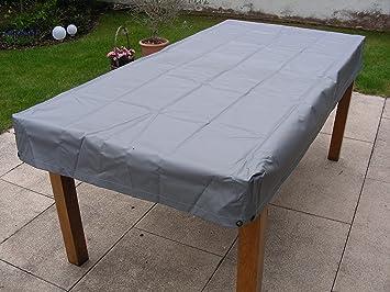 Amazon De Kley Partner Gartentisch Tisch Abdeckung Wasserdicht Grau