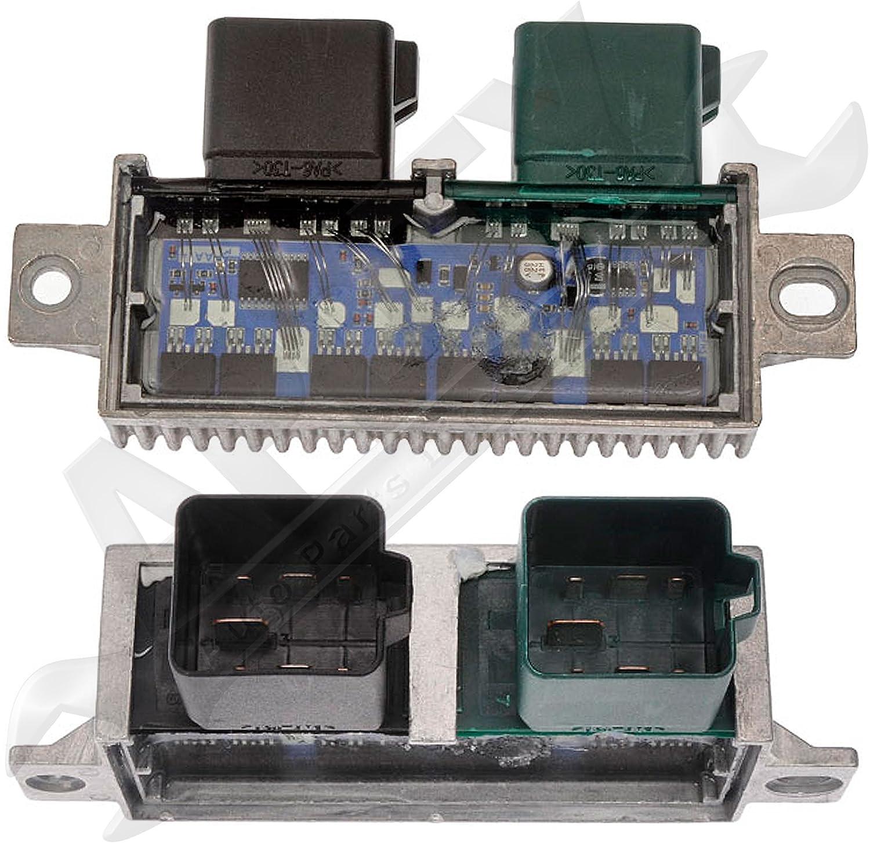 Replaces YC3Z-12B533-AA, YC3Z12B533AA 7.3L Diesel 6.4L APDTY 015393 Glow Plug Relay For 1999-2010 Ford F250 F350 F450 F550 Excursion Econoline Van Super-Duty Ford 6.0L