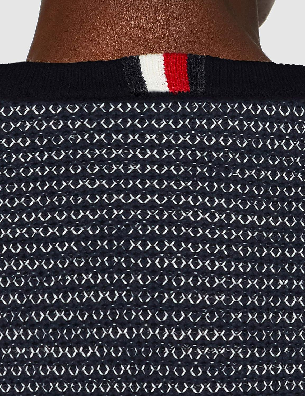 Tommy Hilfiger Honeycomb Slub Sweater Sudadera para Hombre