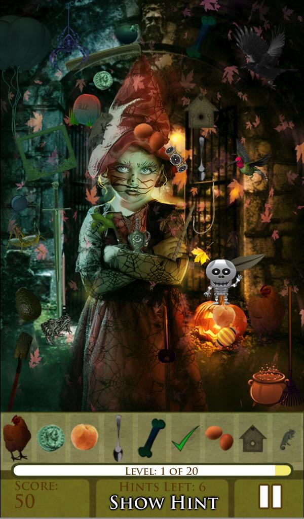 Amazon.com: Hidden Object - Happy Halloween: Appstore for