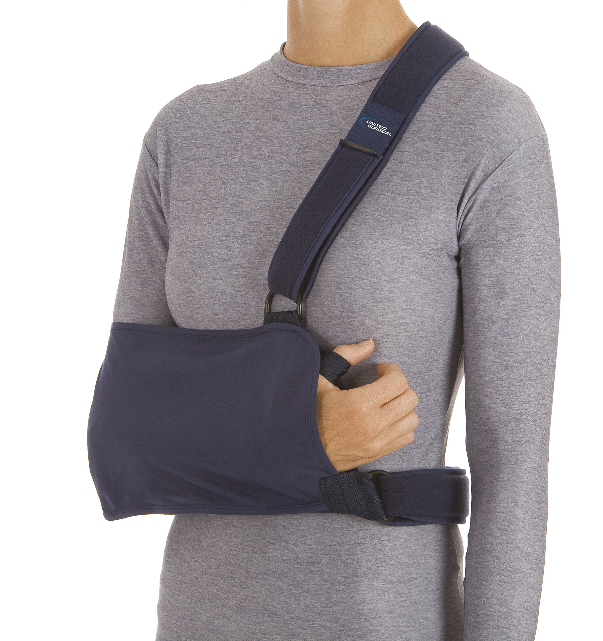 Amazon Com Shoulder Immobilizer Sling Cotton Poly Right