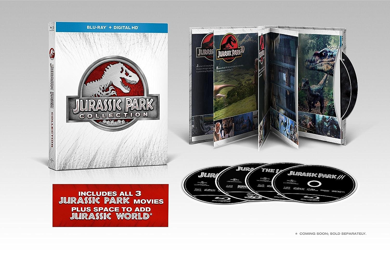 Jurassic Park Collection Edizione: Stati Uniti Italia Blu-ray: Amazon.es: Cine y Series TV