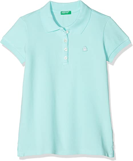 United Colors of Benetton H/s Polo Shirt, Azul (Aqua 13a), Talla ...