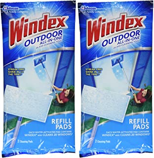 windex all in one window cleaner pads refill 2 ct 2 pk - Window Cleaner Job Description