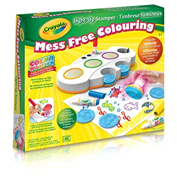Crayola Crayola Color Wonder Light Up Stamper, Mess Free Coloring ...