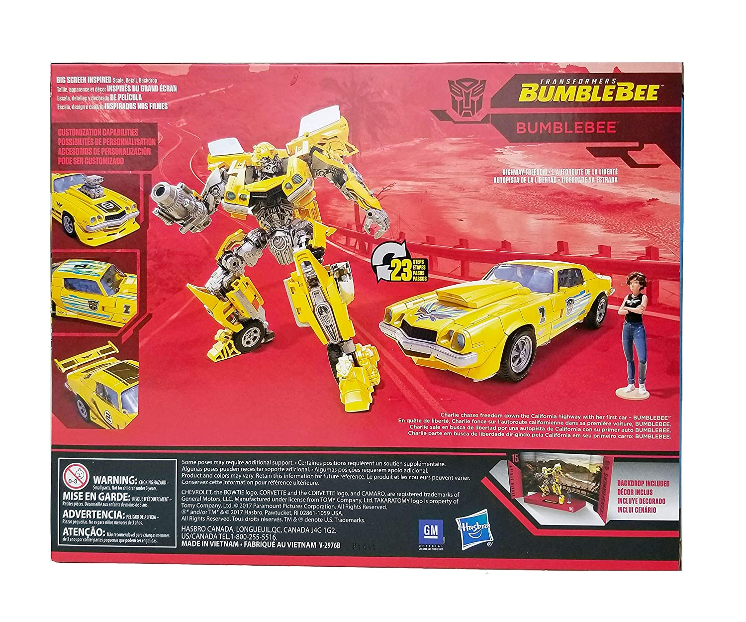 Amazon.com: Transformers Studio Series Deluxe Class Rebekahs Garage Bumblebee with Charlie Exclusive Figure: Toys & Games