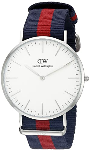 01c2738e8c99 Image Unavailable. Image not available for. Colour  Daniel Wellington Oxford  Silver Men s Quartz Watch ...