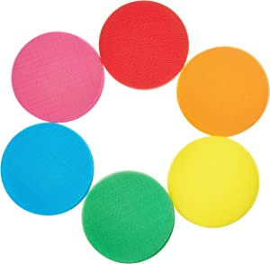 Wensty Spot Markers Floor Spots Circles Sitting Dots for Classroom Preschool and Kindergarten (30 Pack)