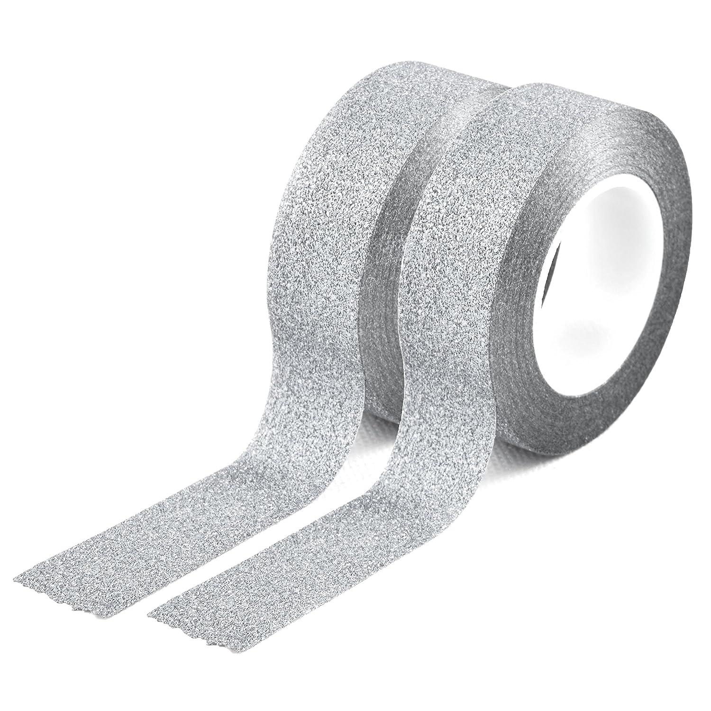 Set 2 youzings washi couleur argent, masking tape-ruban adhésif washi tape marque youzings
