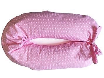 Futter Notebook-Kissen Stillkissen und Schwangerschaft cm 190 pink merrymama