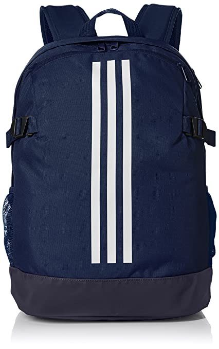 adidas Uni BP Power IV M Gym Backpack, Collegiate NavyWhite