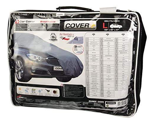 27 opinioni per Sumex Cover1L Carplus Telo Copriauto Universale, 480 X 175 X 120 cm