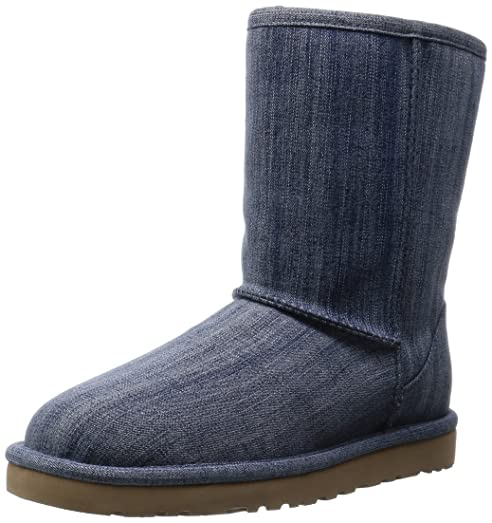 ugg classic short boots navy