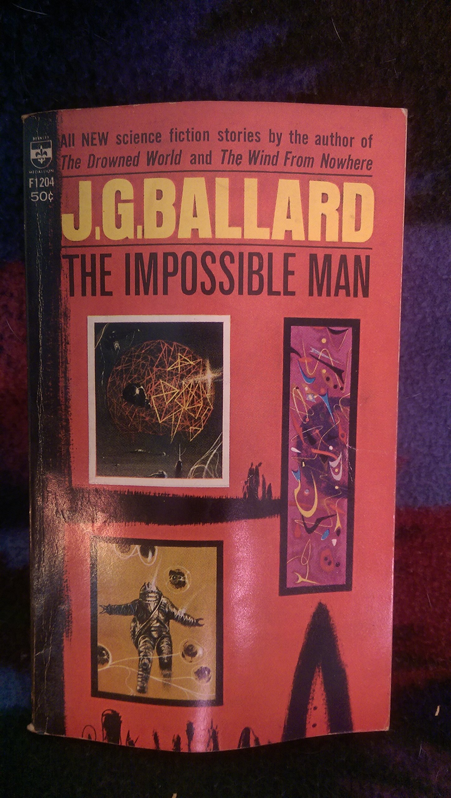 The Impossible Man And Other Stories: J G Ballard, Richard Powers:  Amazon: Books