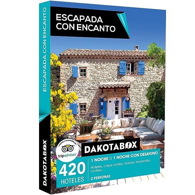DAKOTABOX - Caja Regalo - ESCAPADA CON ENCANTO - 420 hoteles, casas rurales, masías, haciendas y cortijos en España y Portugal: Amazon.es: Deportes y aire ...