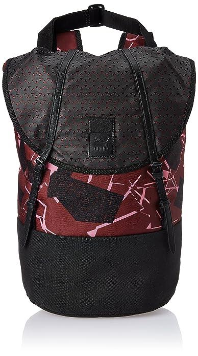 19f2bad101 Puma Urban Pack Women's Handbag (Black, Cabernet and Graphic ...