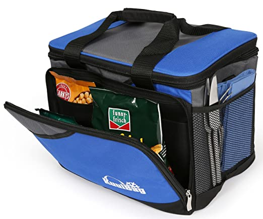 Große 15L große, und faltbare Kühltasche von Kuulbag fürs Auto ...