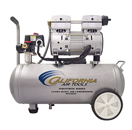 California Air Tools 6010lfc 1.0 HP Ultra silencioso y sin Aceite compresor de aire industrial,