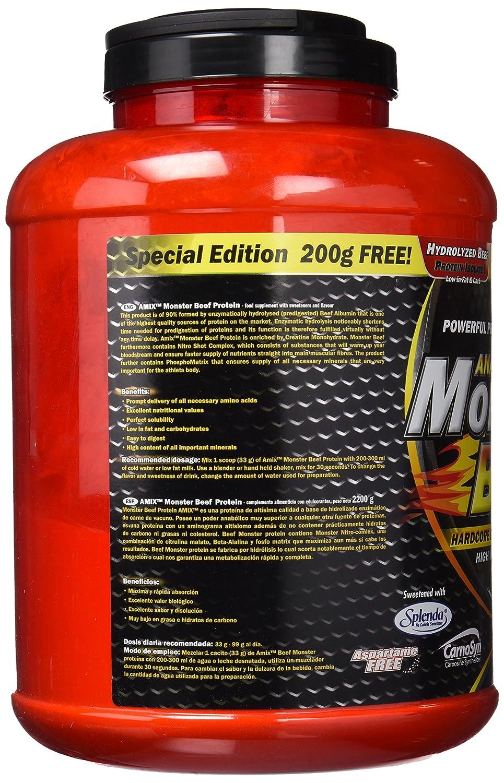 Amix Monster Beef Aminoácidos - 2200 gr_8594159535138: Amazon.es: Salud y cuidado personal