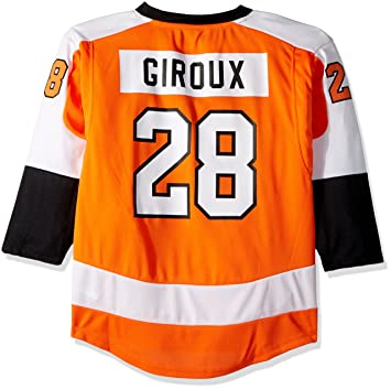 Claude Giroux Philadelphia Flyers Youth NHL Orange Replica Hockey Jersey   Amazon.co.uk  Sports   Outdoors cb7d85572
