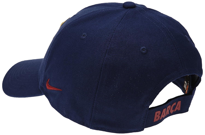 Nike Gorra Fc Barcelona Core, color azul, talla única: Amazon.es: Deportes y aire libre