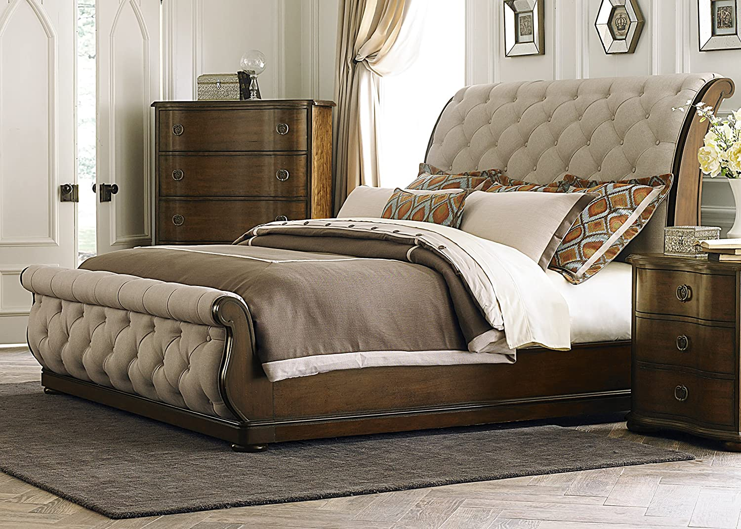 Amazon.com: Liberty Furniture Cotswold King Sleigh Bed (545-BR-KSL ...