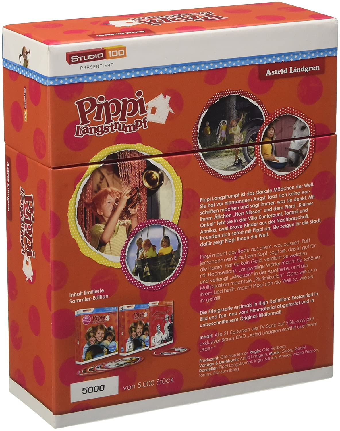Pippi Langstrumpf TV-Serie Blu-ray Box - Sammler-Edition: Amazon.ca: DVD