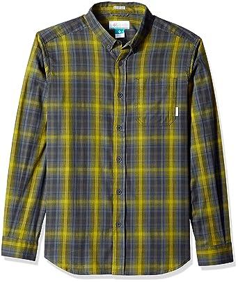 870c3807e95 Columbia Men's Cooper Lake Long Sleeve Shirt, Alpine Tundra Plaid, ...