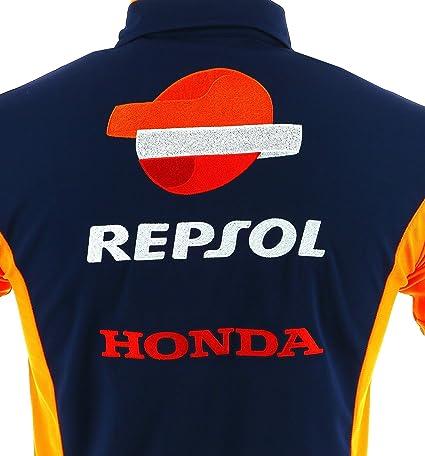 HONDA Repsol MotoGP 2018 - Polo Oficial para Hombre, diseño de ...