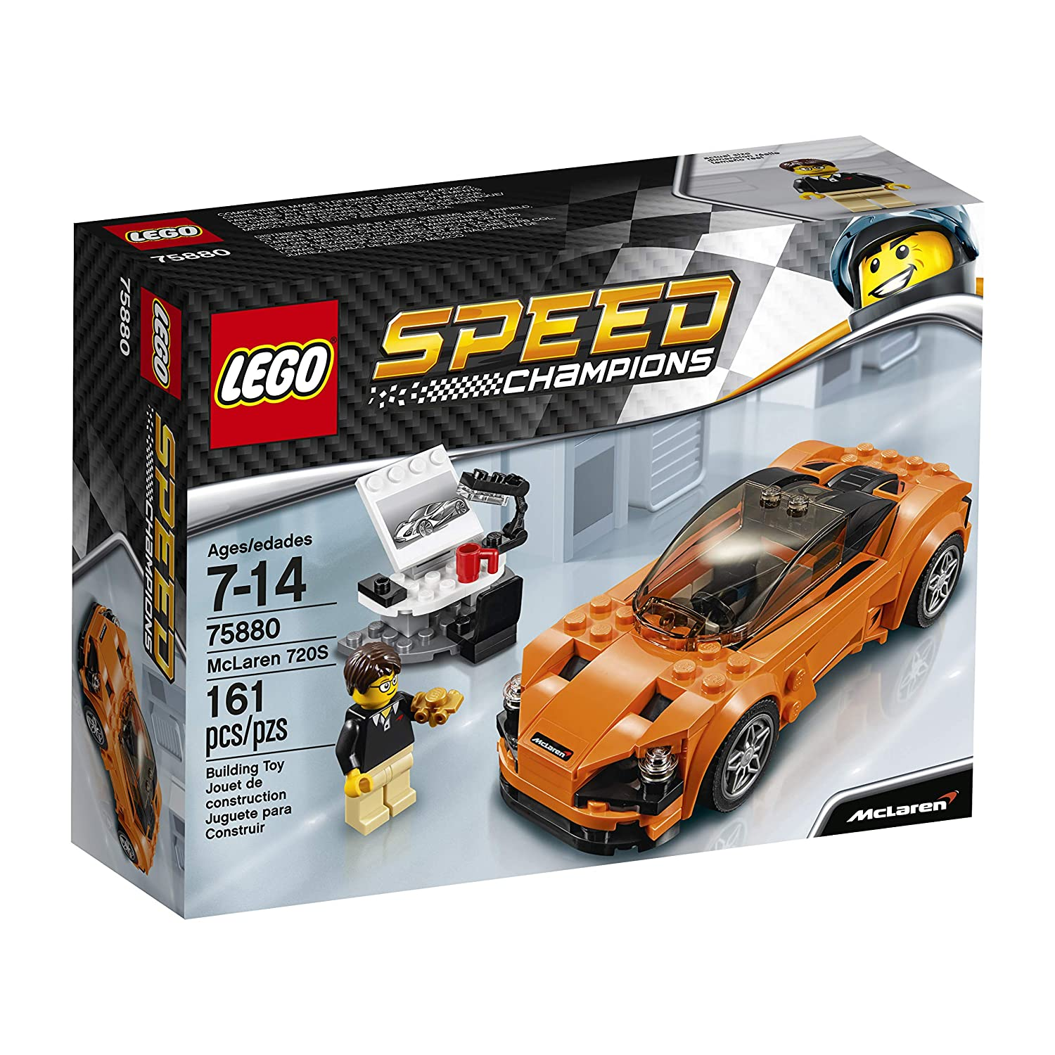LEGO Speed Champions - McLaren 720S - 75880 - Jeu de Construction 6175271