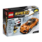 LEGO 75880 Speed Champions McLaren 720S Toy Car, Racing Collector's Model, Vehicle Construction Set
