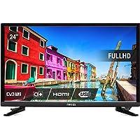 """Nikkei NL2405FHD Téléviseur """"24 LED Full HD, Television Ecran Plat 24 Pouces avec HDMI, 6W, DVB-T, Triple Tuner, CI Plus, Surround Sound, Equalizer,"""