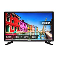 Nikkei NL2405FHD - Televisore 24 pollici con telecomando, TV LED Full HD, 1920 x 1080 p, 6 W, 6,5 ms, DVB-T2, colore: Nero