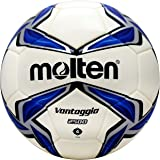 Molten Bonded Soccer Ball, NFHS Approved - Silver/Blue, Blue/Silver/White