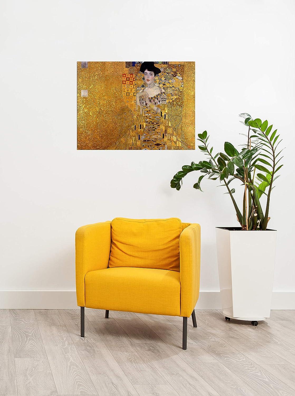 Keilrahmenbild Gustav Klimt Klimt Klimt - Adele Bloch - Bauer I 90x120 cm Groß - Leinwandbild Alte Meister Gemälde Bild auf Leinwand B07KB5D77Y Leinwanddrucke 9c8007