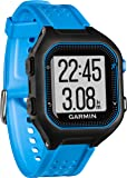 Garmin Forerunner 25 GPS Running Watch with Heart Rate Monitor - Large, Black/Blue