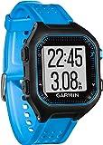 Garmin Forerunner 25 HRM Bundle Running GPS con Funzione Fitness Band, Large, Nero/Blu