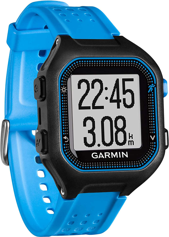 Garmin Forerunner Reloj deportivo color negro y azul talla L