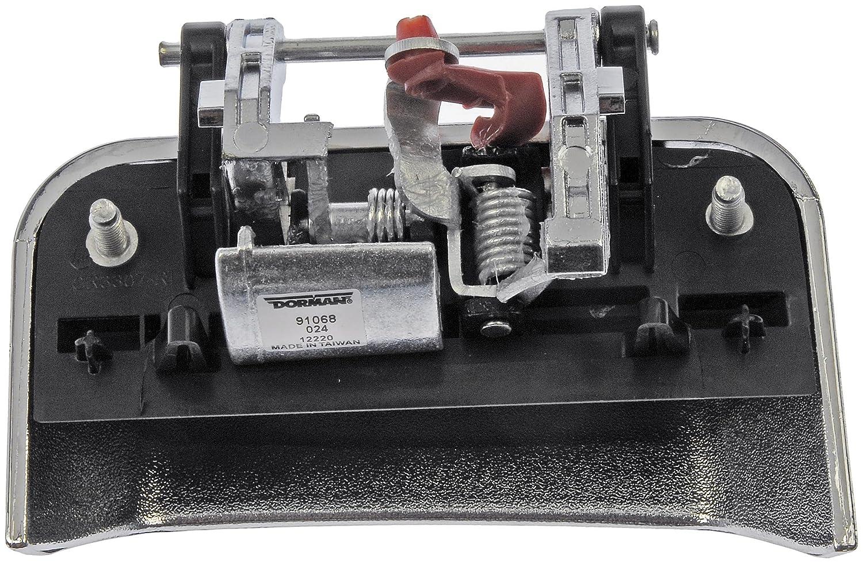 Dorman 91068 Jeep Compass Rear Passenger Side Chrome Exterior Replacement Door Handle