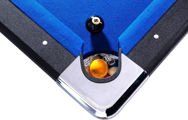 Rack Vega Mesa de Billar Plegable de 6 pies, Incluye Juego ...