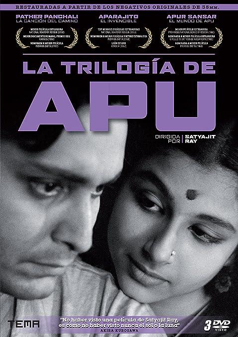 la trilogía de apu pather panchali aparajito apur sansar