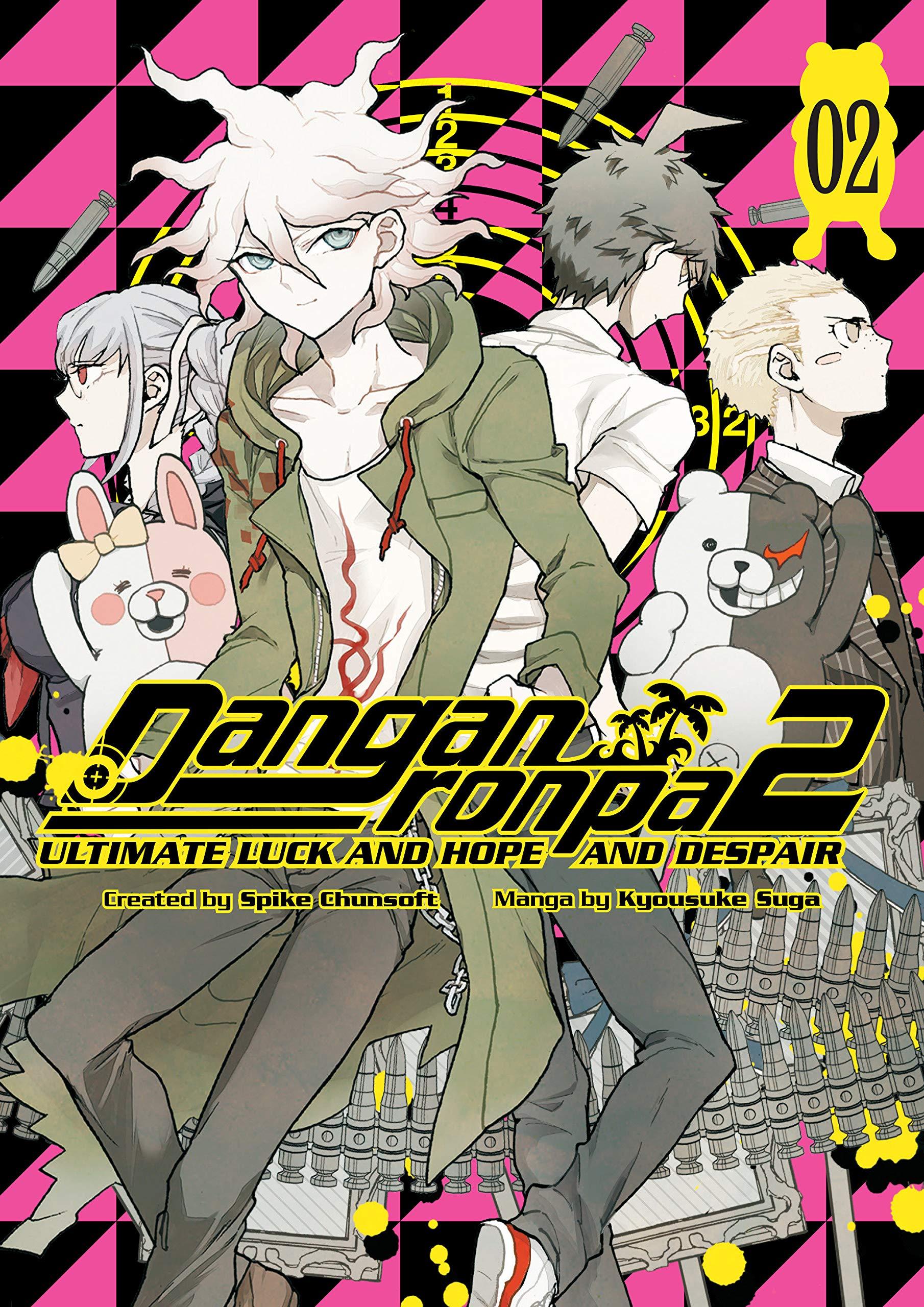 Danganronpa 2 Ultimate Luck And Hope And Despair Volume 2 Chunsoft Spike Suga Kyousuke 9781506707341 Amazon Com Books
